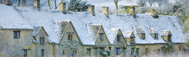 prepare your property for winter snow roofs